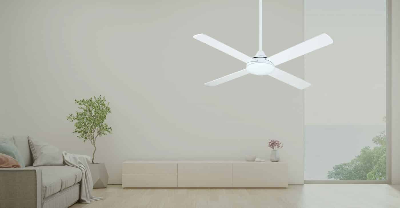 The bay ceiling fan