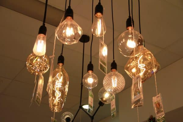 A collection of our LED vintage filament globes