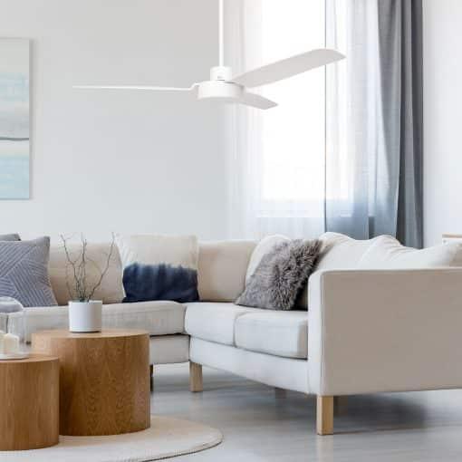 The Yamba fan in white
